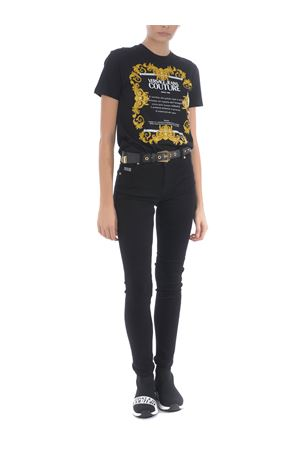 T-shirt Versace Jeans Couture in cotone VERSACE JEANS | 8 | B2HZA7TG30319-899