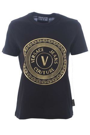 T-shirt Versace Jeans Couture in cotone VERSACE JEANS | 8 | B2HZA7TK30319-K42