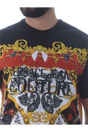 T-shirt Versace Jeans Couture in cotone VERSACE JEANS | 8 | B3GZA7KA30327-899