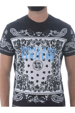 T-shirt Versace Jeans Couture in cotone VERSACE JEANS | 8 | B3GZA7PH30392-899