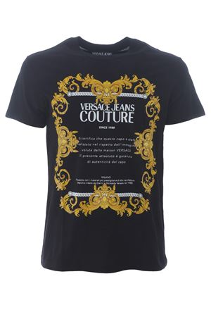 T-shirt Versace Jeans Couture in cotone VERSACE JEANS | 8 | B3GZA7TG30319-K42