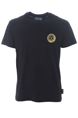 T-shirt Versace Jeans Couture in cotone VERSACE JEANS | 8 | B3GZA7TI30319-K42