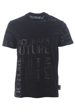T-shirt Versace Jeans Couture in cotone VERSACE JEANS | 8 | B3GZA7TL30319-899