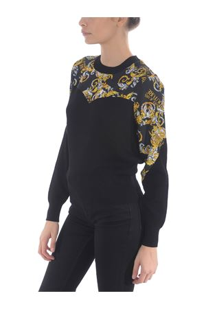 Versace Jeans Couture sweater in mixed viscose VERSACE JEANS | 10000005 | B4HZA80550453-899