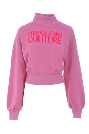 Versace Jeans Couture crop sweatshirt in stretch cotton