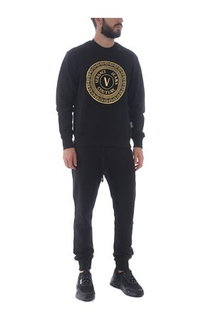 Felpa Versace Jeans Couture in cotone VERSACE JEANS | 10000005 | B7GZA7TX30318-K42