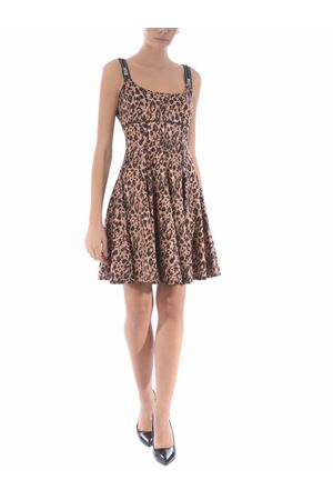 Versace Jeans Couture animalier stretch short dress. VERSACE JEANS | 11 | D2HZA412S0803-750