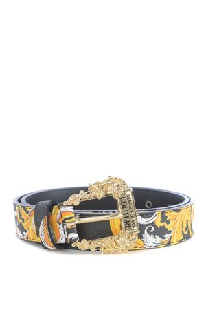 Versace Jeans Couture belt in leather.  VERSACE JEANS | 22 | D8VZAF0171579-M27