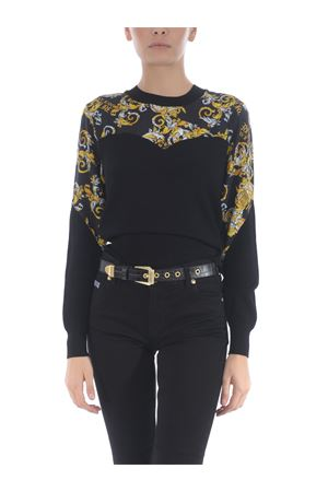 Black belt Versace Jeans Couture in leather.  VERSACE JEANS | 22 | D8VZAF1071629-899