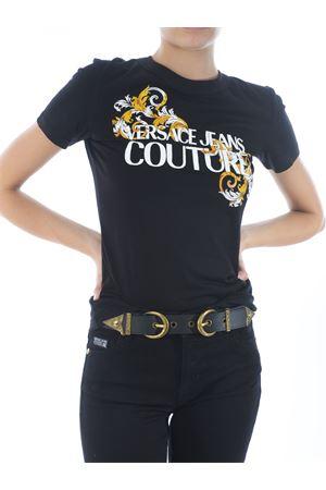 Cintura di Versace Jeans Couture in pelle VERSACE JEANS | 22 | D8VZAF1371627-899