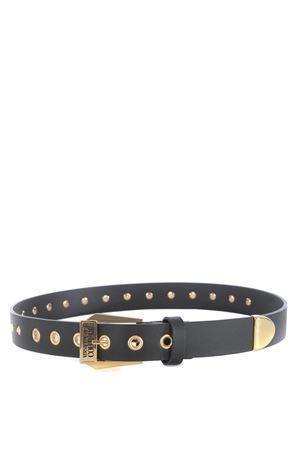 Versace Jeans Couture belt in black calfskin VERSACE JEANS | 22 | D8VZBF0871787-M27