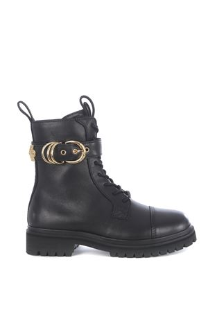 Versace Jeans Couture combat boots in leather VERSACE JEANS | 76 | E0VZAS4171563-899