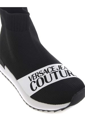 Versace Jeans Couture sock sneakers in stretch knit VERSACE JEANS | 5032245 | E0VZASGB80043-899