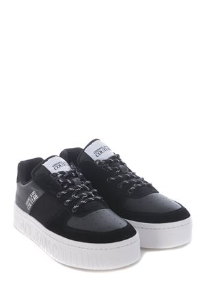 Versace Jeans Couture sneakers in leather and nylon VERSACE JEANS | 5032245 | E0YZASD571601-899