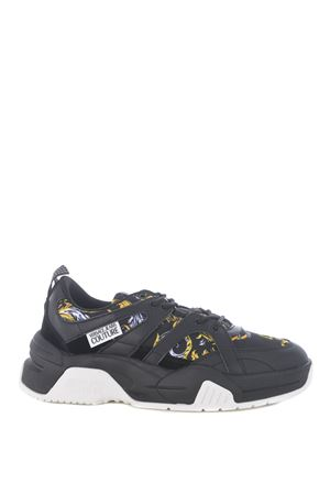Versace Jeans Couture sneaker in leather and nylon VERSACE JEANS | 5032245 | E0YZASF271599-899