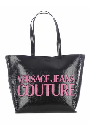 Versace Jeans Couture shopping bag in synthetic vinyl. VERSACE JEANS | 31 | E1VZABP171412-MH6