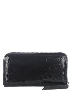 Versace Jeans Couture black wallet in synthetic vinyl.  VERSACE JEANS | 63 | E3VZAPP171412-MH6
