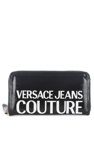 Portafoglio nero di Versace Jeans Couture in vinile sintetico. VERSACE JEANS | 63 | E3VZAPP171412-MI9