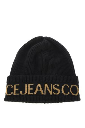 Versace Jeans Couture hat in ribbed wool blend. VERSACE JEANS | 26 | E8VZBK4080078-M27