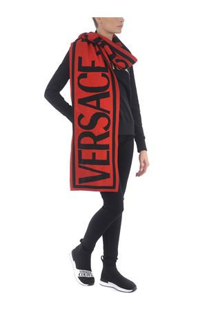 Versace Jeans Couture scarf in wool blend. VERSACE JEANS | 77 | EBVZBH5080082-N48