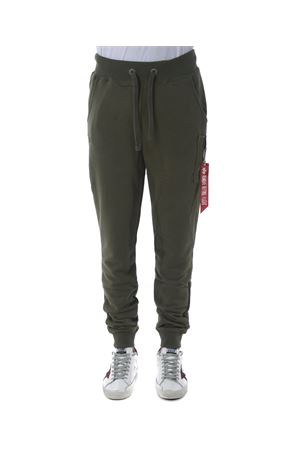 Alpha Industries jogging pants in cotton blend ALPHA INDUSTRIES | 9 | 178333257