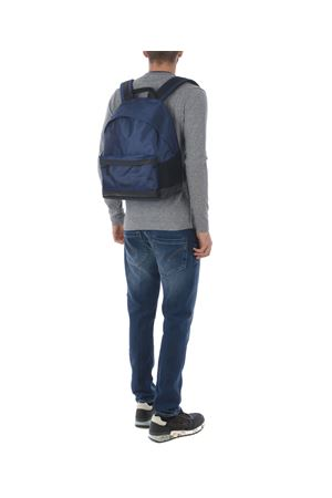 Blauer backpack in Blue nylon canvas. BLAUER | 10000008 | BLZA00461TNAVY