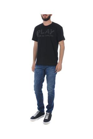 Comme des Garçons Play play cotton T-shirt COMME des GARCONS PLAY | 8 | P1T188BLACK