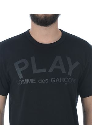 T-shirt Comme des Garçons Play play COMME des GARCONS PLAY | 8 | P1T188BLACK
