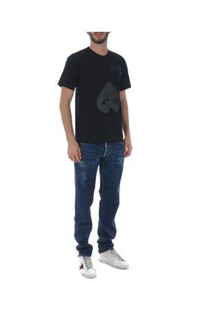 Comme des Garçons Play cotton T-shirt COMME des GARCONS PLAY | 8 | P1T196BLACK