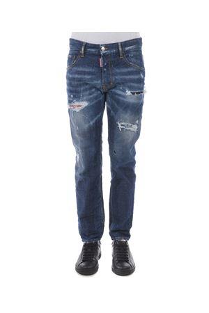 Jeans Dsquared2 run dan jean DSQUARED | 24 | S71LB0500S30144-470