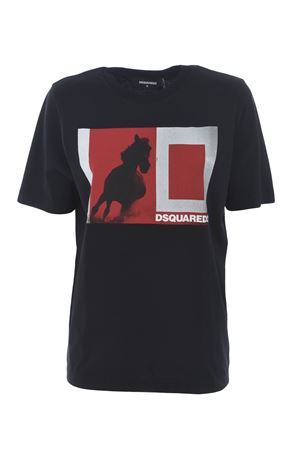 T-shirt Dsquared2 in cotone DSQUARED | 8 | S72GD0096S22844-900