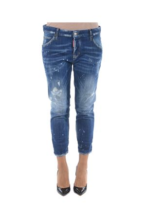 Jeans Dsquared2 cool girl cropped DSQUARED | 24 | S72LB0107S30342-470
