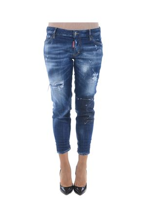 Jeans Dsquared2 super skinny cropped DSQUARED | 24 | S72LB0109S30342-470