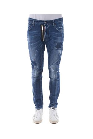 Jeans Dsquared2 tidy biker jean DSQUARED | 24 | S74LB0424S30342-470