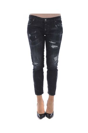 Jeans Dsquared2 medium waist skinny cropped jean DSQUARED | 24 | S75LB0060S30357-900
