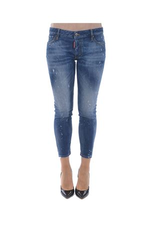 Jeans Dsquared2 medium waist cropped twiggy jean DSQUARED | 24 | S75LB0068S30595-470