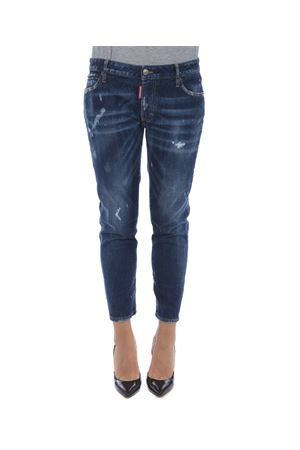 Jeans Dsquared2 medium waist cropped twiggy jean DSQUARED | 24 | S75LB0071S30595-470