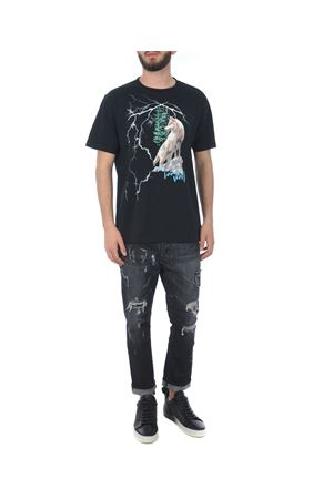 T-shirt Marcelo Burlon County of Milan wolf lightning MARCELO BURLON | 8 | CMAA018E180010091088