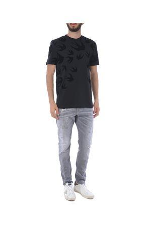 T-shirt MCQ Alexander McQueen in cotone MCQ | 8 | 277605RLT73-1000