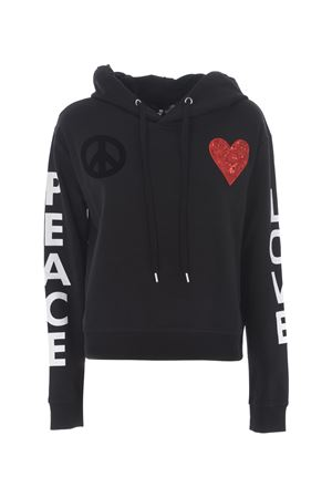 Felpa Love Moschino love-peace MOSCHINO LOVE | 10000005 | W634601E1853-C74
