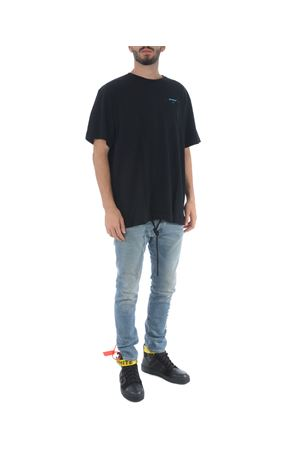 T-shirt Off-White gradient-over OFF WHITE | 8 | OMAA038F181850051088