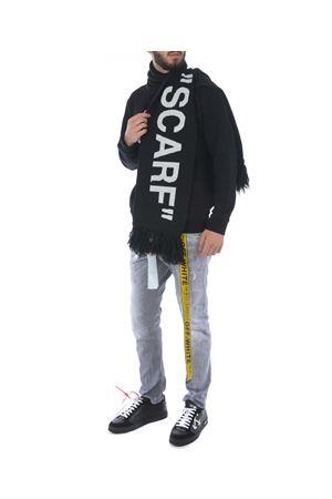 Sciarpa tubolare Off White quote scarf OFF WHITE | 77 | OMMA001E184070101001