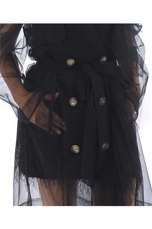 Trench Act n ° 1 in tulle