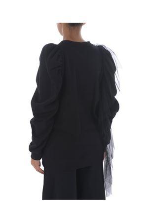 Act n ° 1 sweatshirt in cotton fleece and tulle