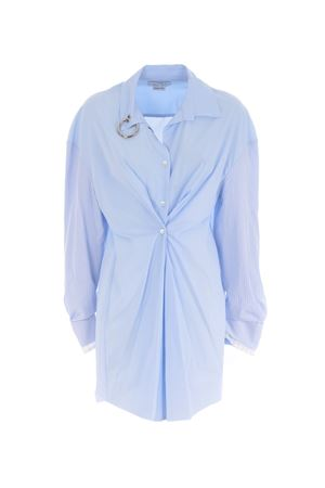 Act n ° 1 shirt dress in cotton poplin