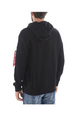 Alpha Industries cotton blend sweatshirt