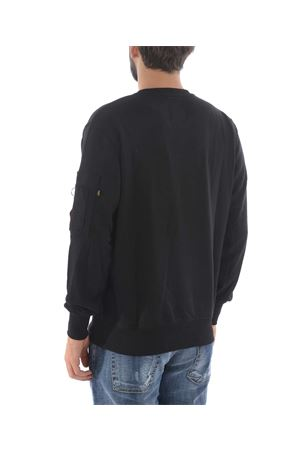 Alpha Industries lightweight cotton blend sweatshirt