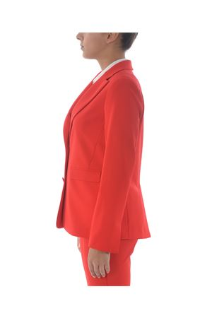 Be Blumarine jacket in red stretch cady. BE BLUMARINE | 3 | 8404152