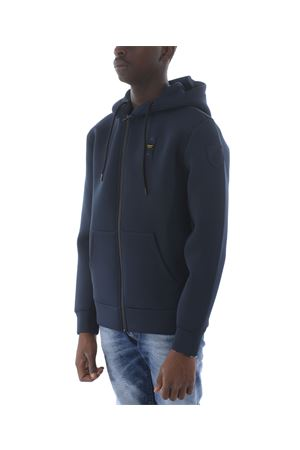Blauer sweatshirt in stretch technical jersey
