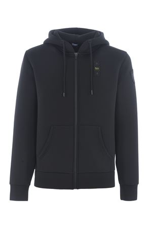 Blauer sweatshirt in stretch technical jersey